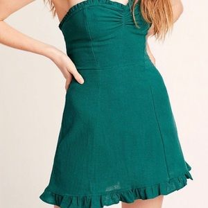 Free people - beat the heat strapless mini dress